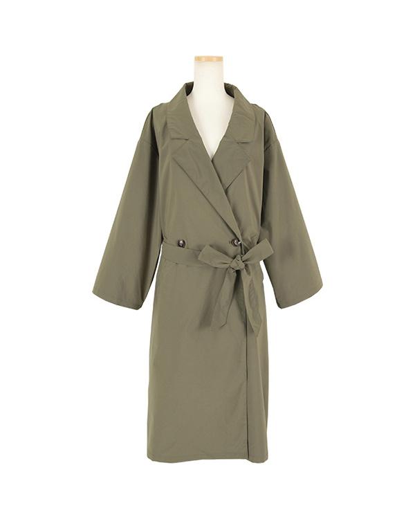 titivate / khaki oversized long trench coat ○ ARXQ1706 / Women's