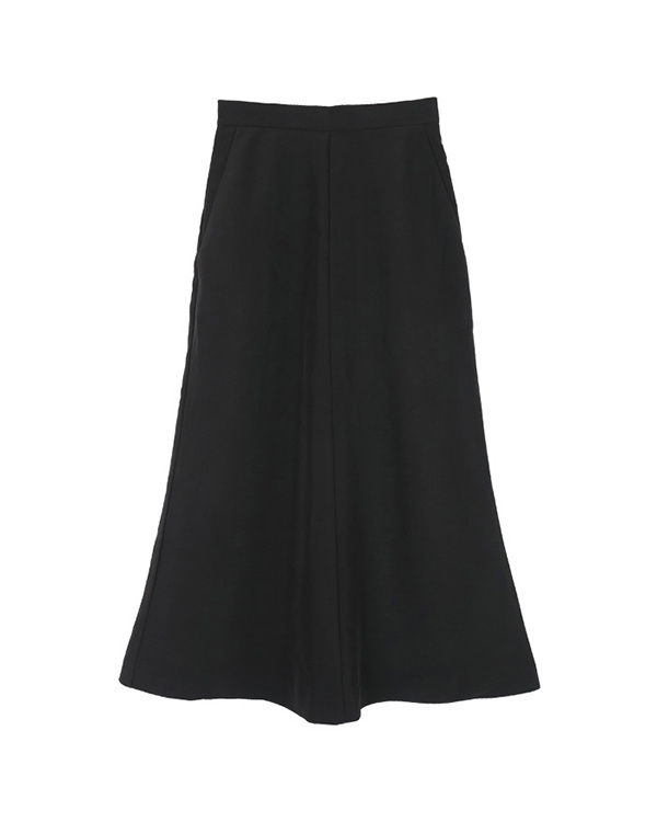 ur's / black Mermaid maxi skirt