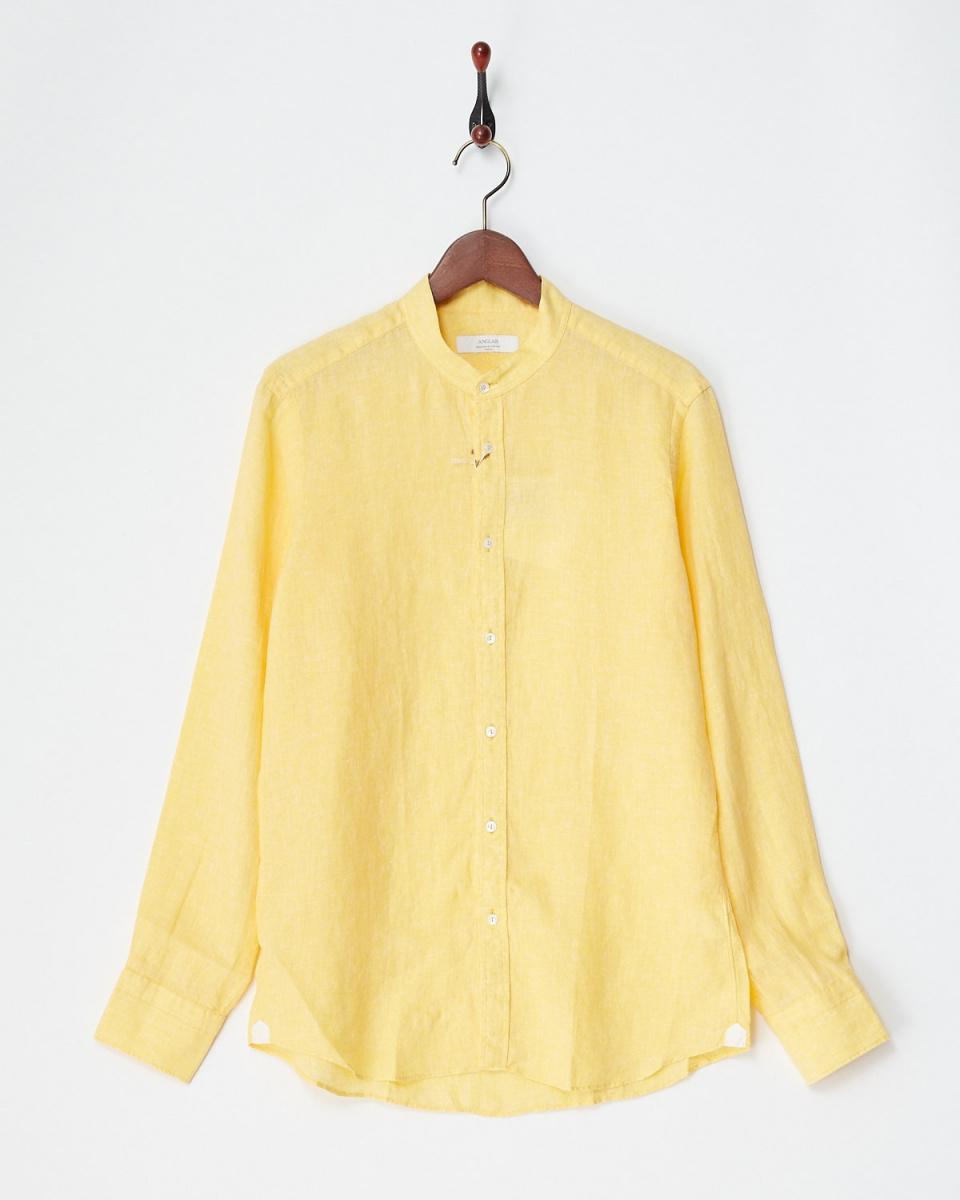 Angure /黄麻布褽衬衫