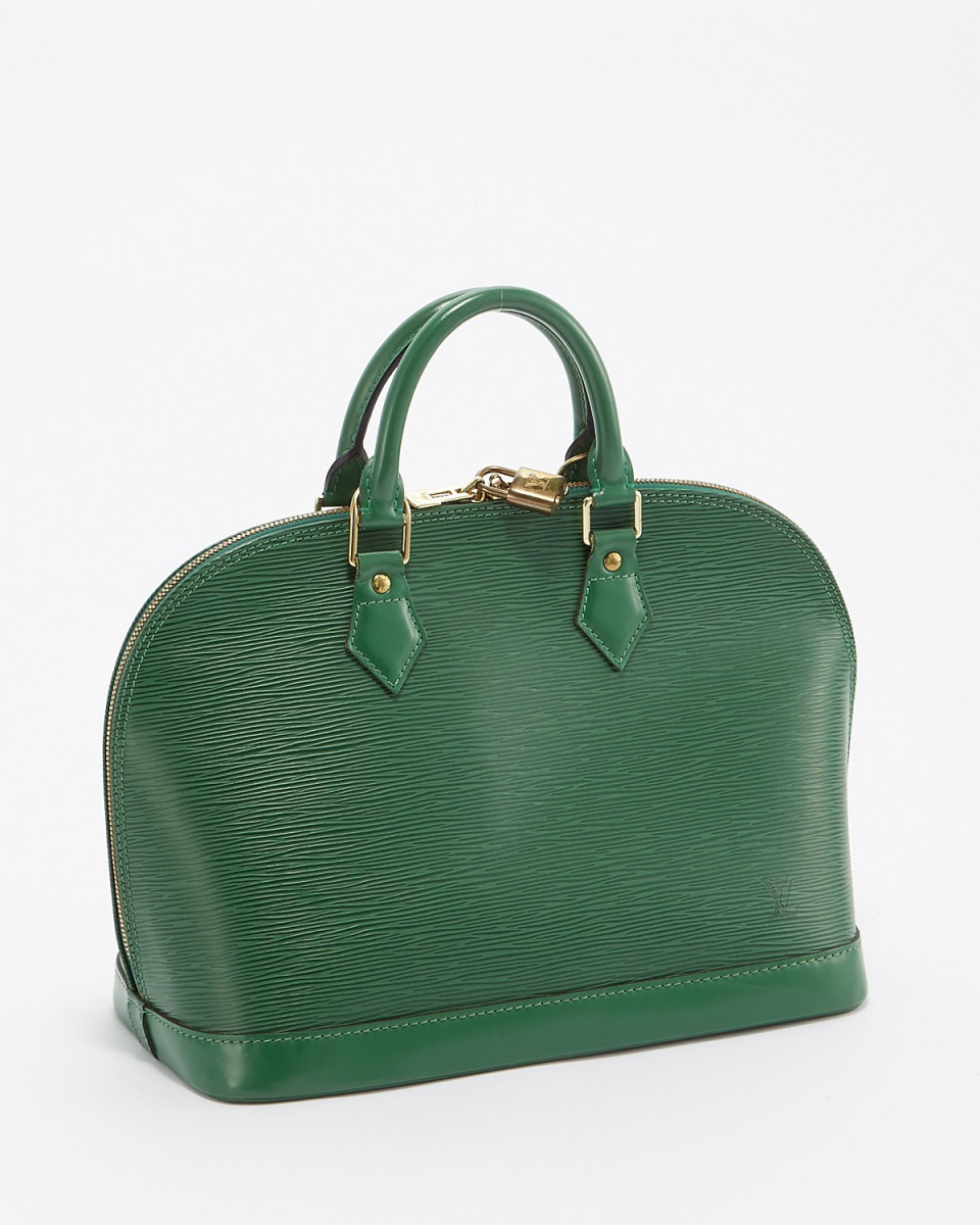 Louis Vuitton / green aaa- Alma epi handbag
