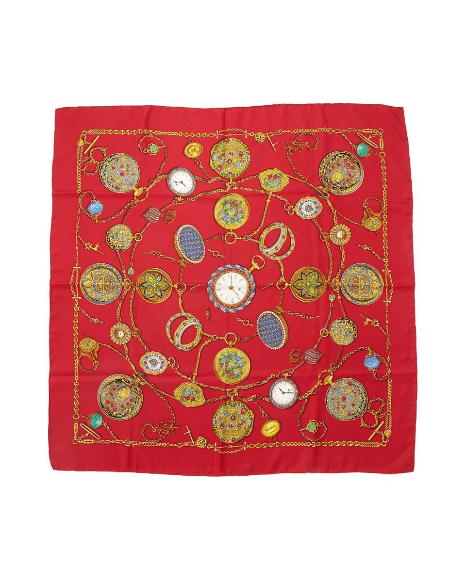 古馳/紅系統BBB-鏈手錶圍巾