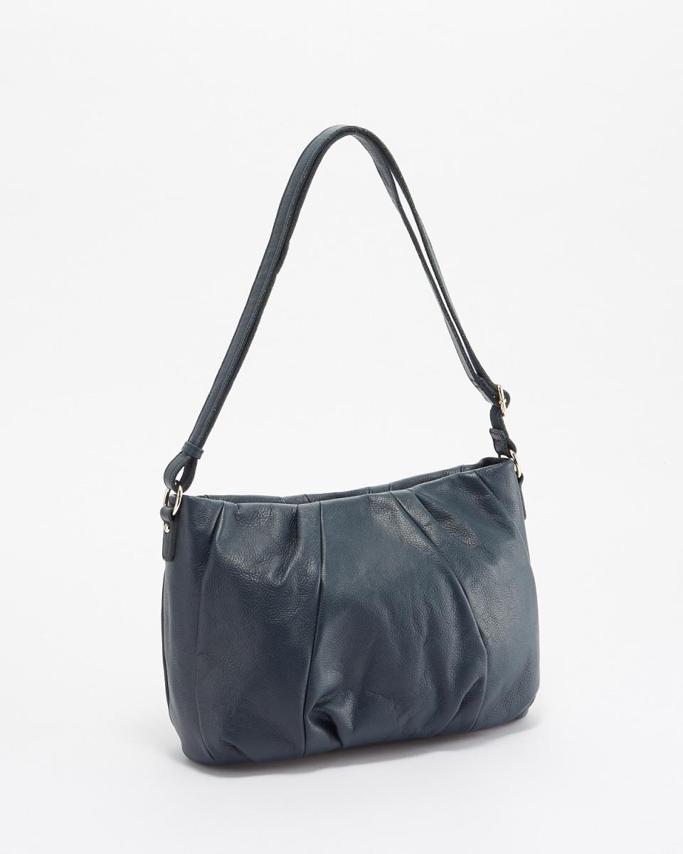 ANNA MARIE / blue green tack shoulder bag ○ A9A-68645943-BGRN