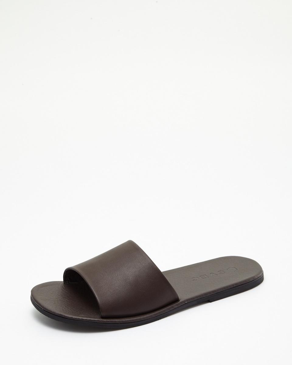 斯威克/深棕色一個帶涼鞋○SPD991-3 /男裝