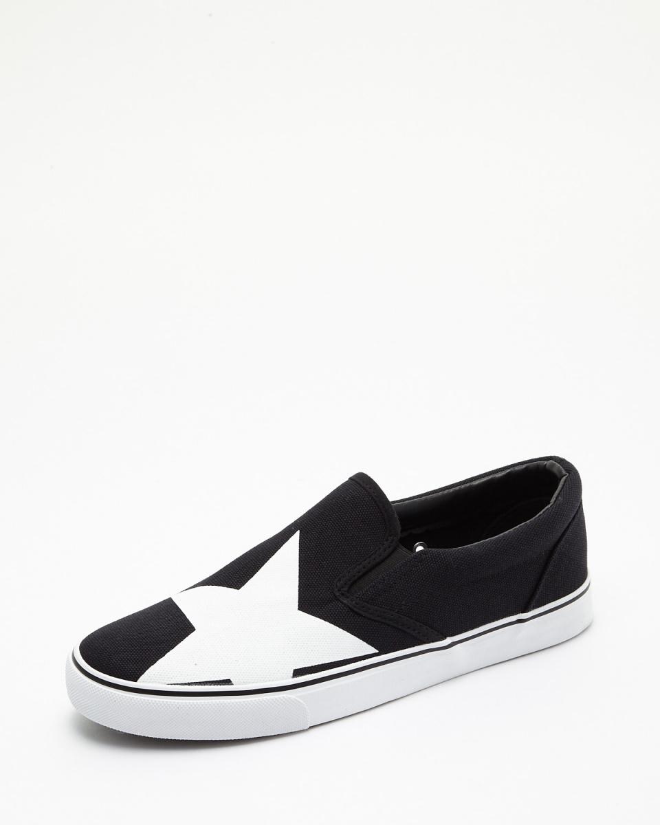 斯威克/黑星帆布防滑運動鞋○SPS028-5 /男裝