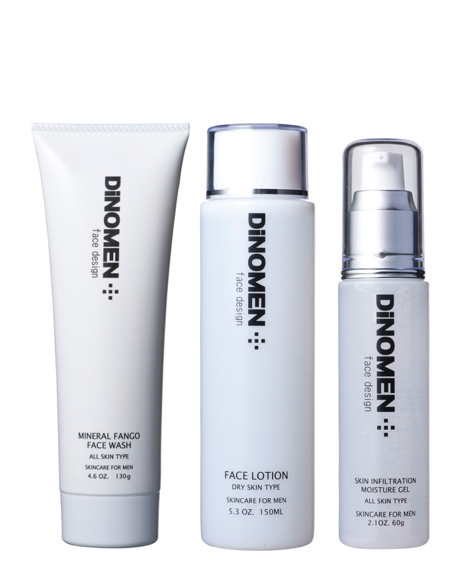 DiNOMEN / skin care for a basic set dry skin ○ 4941993600036/4941993600012/4941993600043