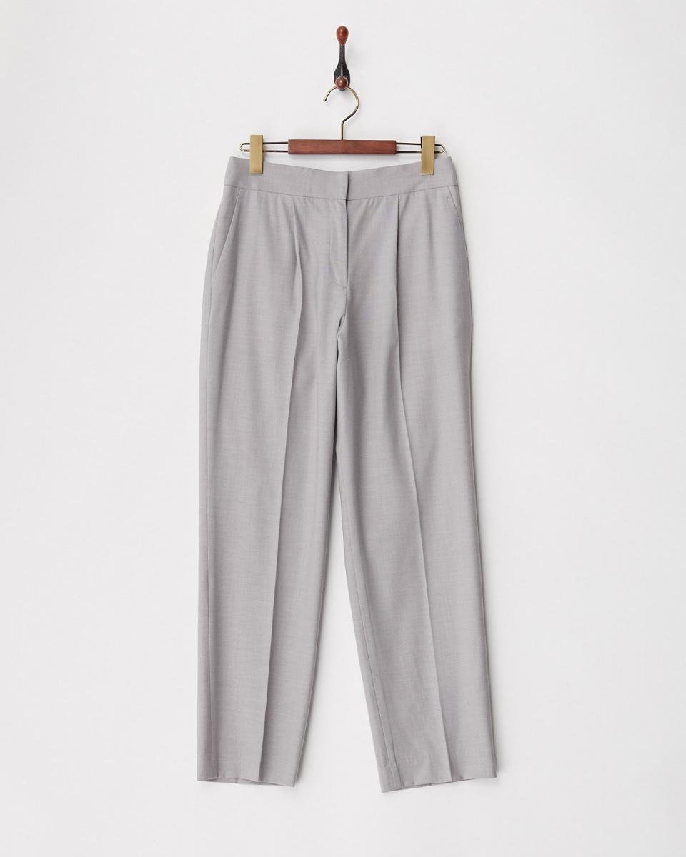 TML COLLECTION / Gray light pin head pants / Women's