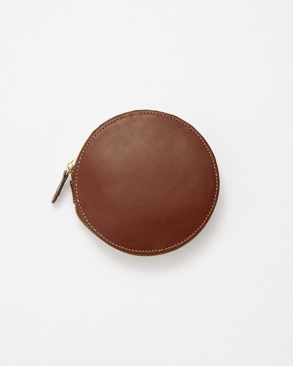 KUNUNURRA / chocolate circular wallet ○ 8168026