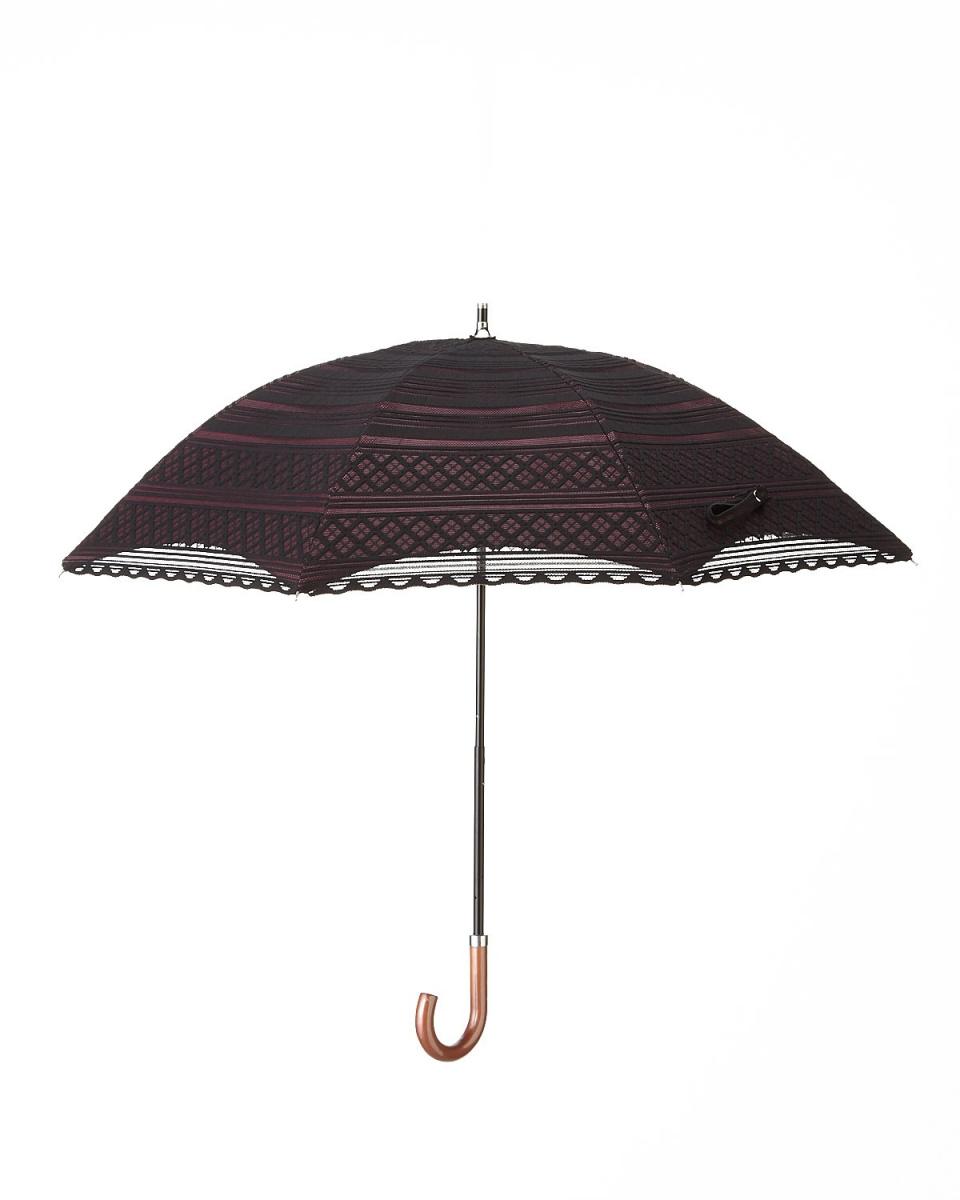 青铜/黑×酒风雨无阻结合双包层边界伞|女性○T54278