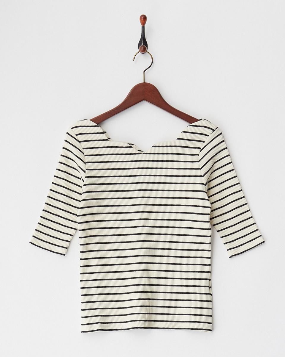 MIIA /斑馬標切套衫/女裝