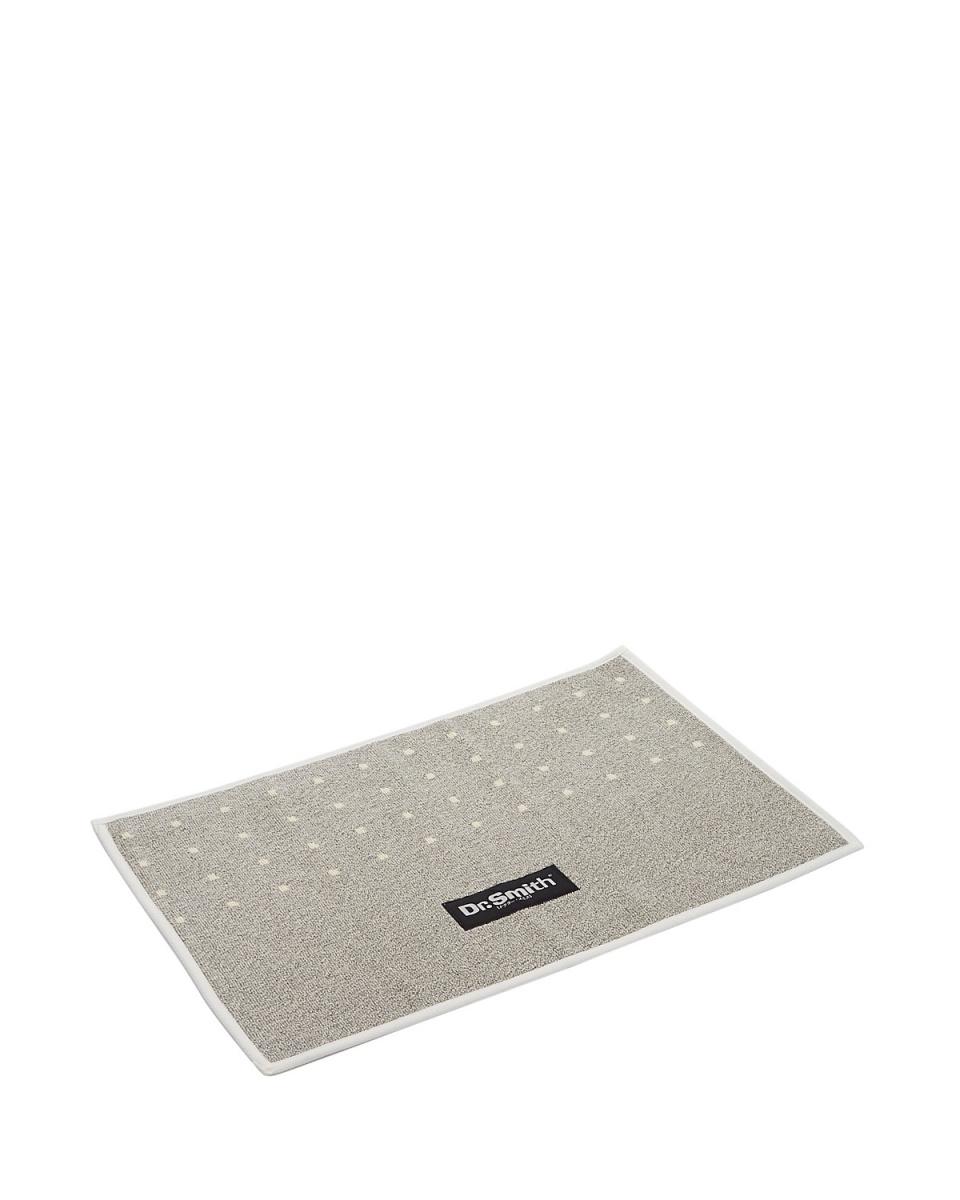 Dr.smith / light gray charcoal bath mat A1 ○ 22010