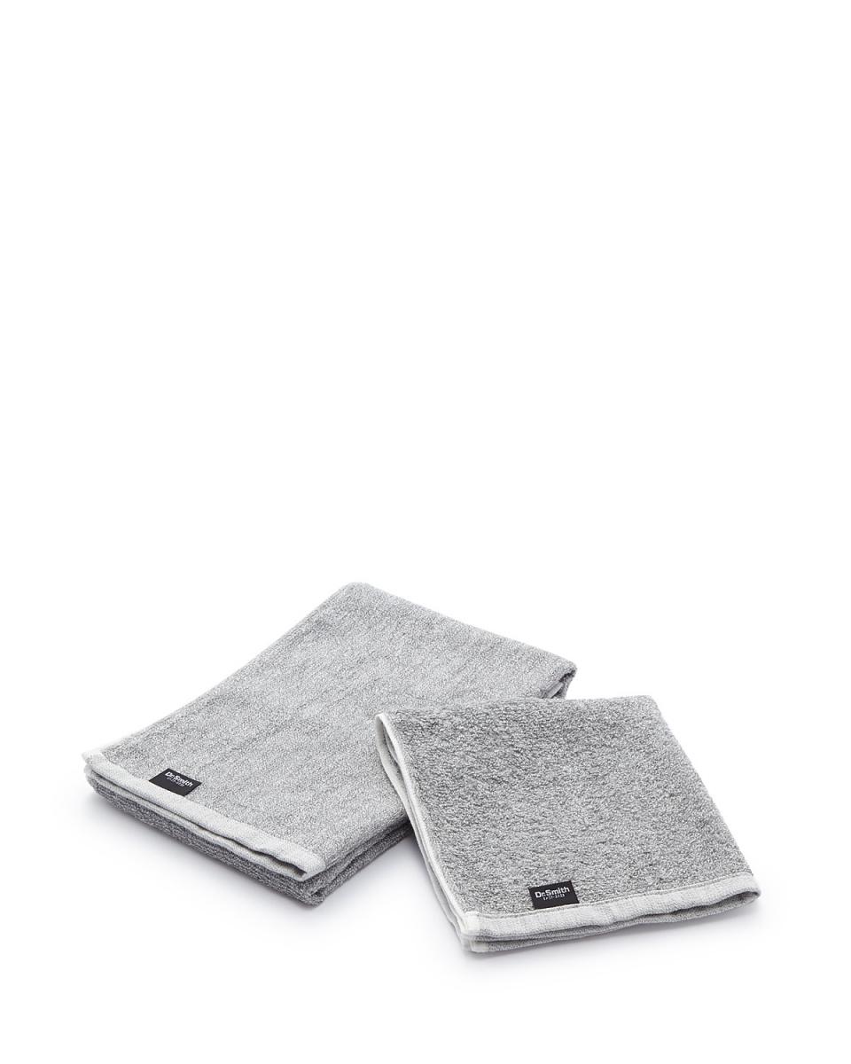Dr.smith /淺灰色Sumiito毛巾設置○20174