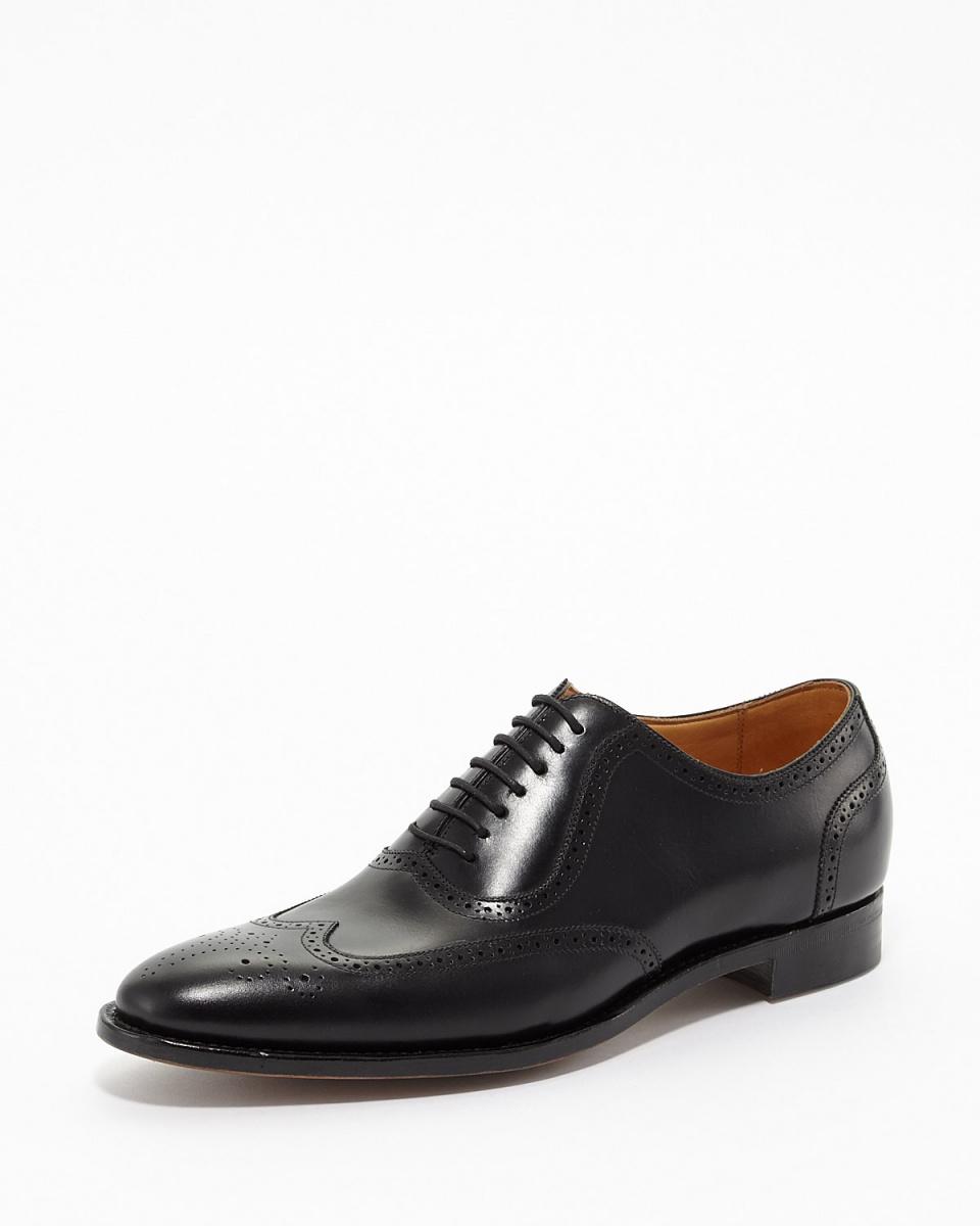 KamiTakumi / BLACK full Brogue shoes ○ OM11 BLACK / Men's