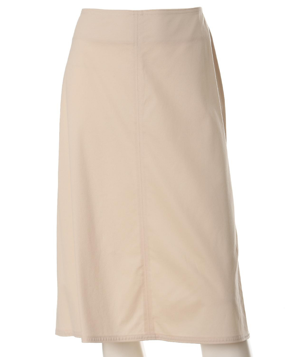 """INED L size / beige 2 """"large size"""" stretch A-line skirt INED L size ○ 7571152905 / Women's"""