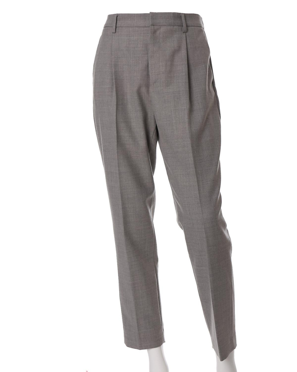 """INED L size / gray 1 """"large size"""" stretch tapered pants INED L size ○ 7571161035 / Women's"""