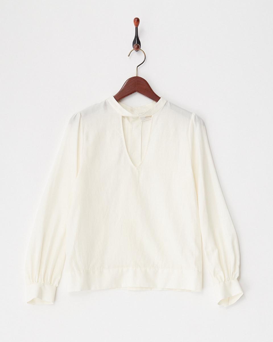 revionnet / WHITEV型開放式設計的上衣○RP18FB301 /女裝