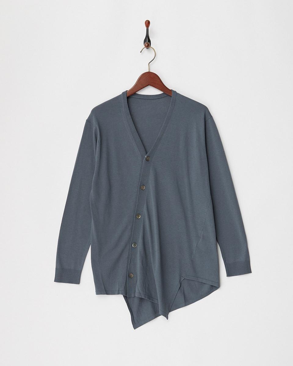 GALERIE VIE / charcoal gray SCV neck C / D ○ 23028102102 / Women's