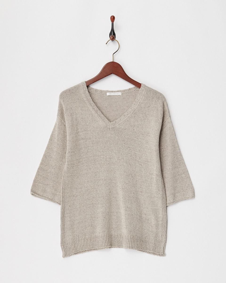 GALERIE VIE / beige M gauge CV ○ 23028102705 / Women's