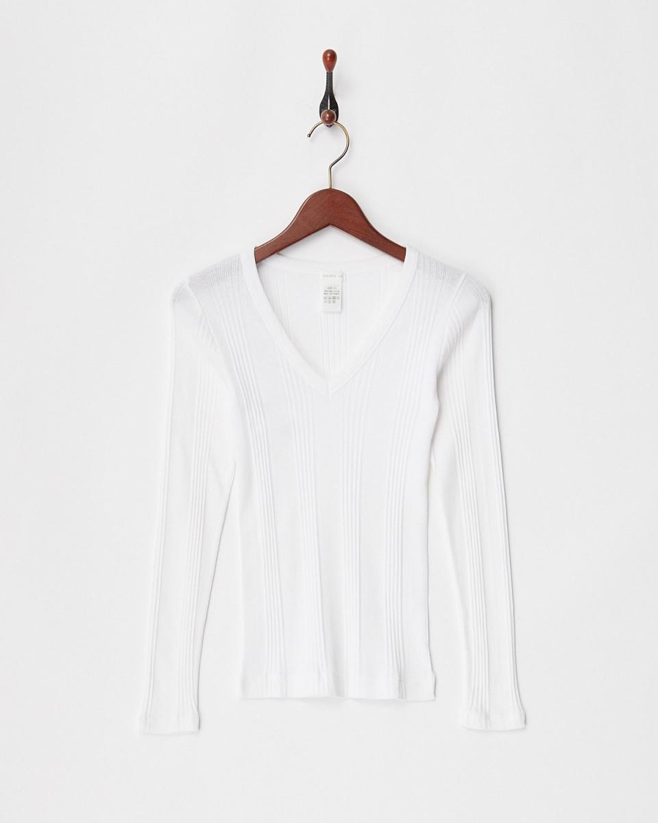 GALERIE VIE / white sweater machine VP / O ○ 23038103202 / Women's