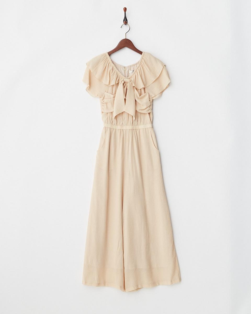 Supreme.La.La /粉色米色胸圍色帶的組合氖塘○181-CN002 /女裝