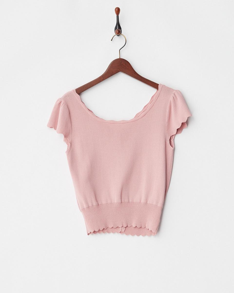 Supreme.La.La /粉紅2WAY標色針織上衣○181-KT017 /女裝