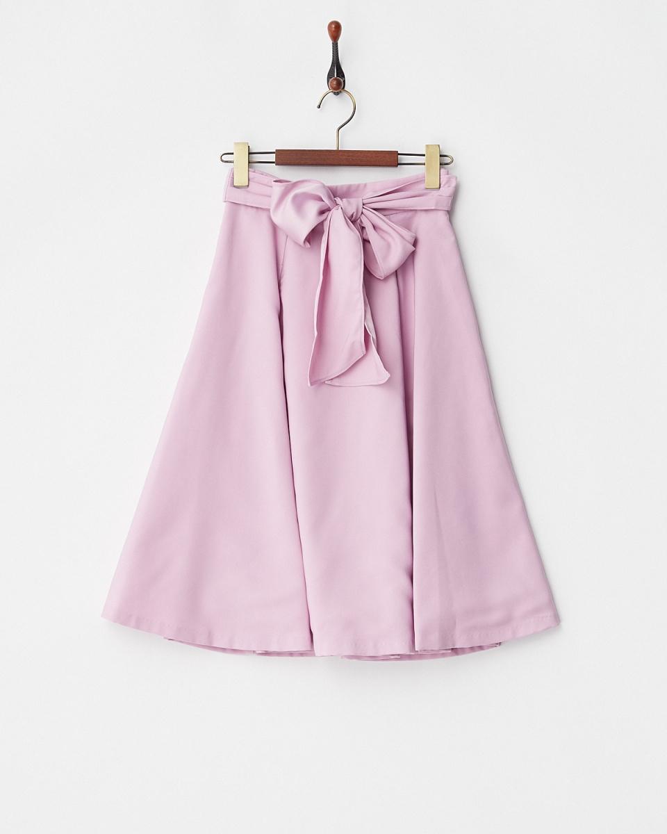 Supreme.La.La /粉红色裙子耀斑○181-SK017 /女装