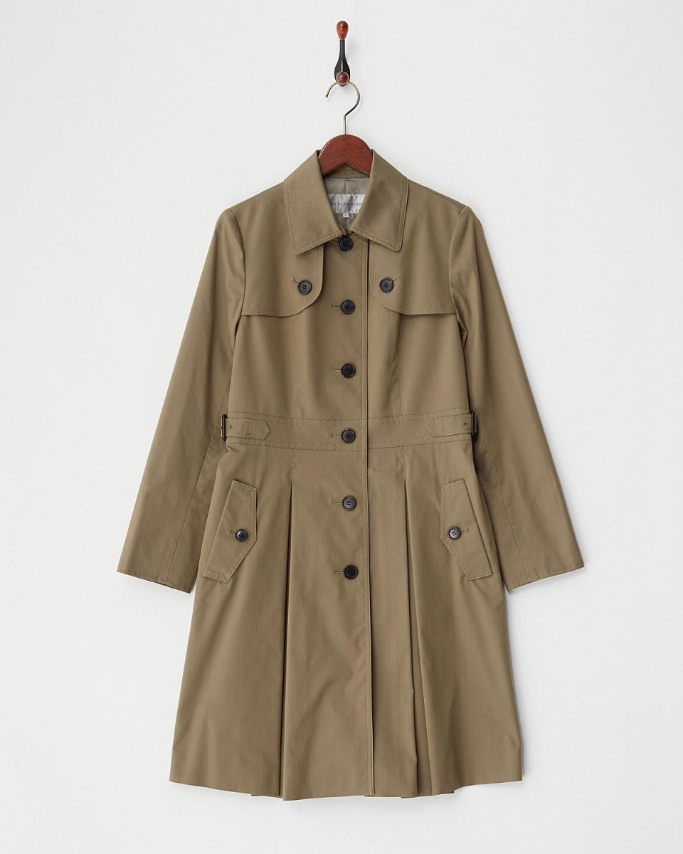 AZEY-LE /卡其粘性火炬单风衣○9651 /女装