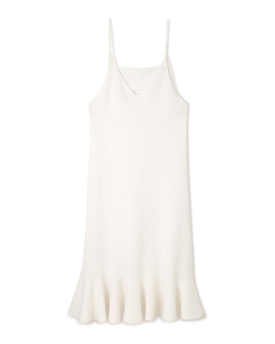 Adour / White Modal stretch knit cami dress Adour ○ 5317174302 / Women's