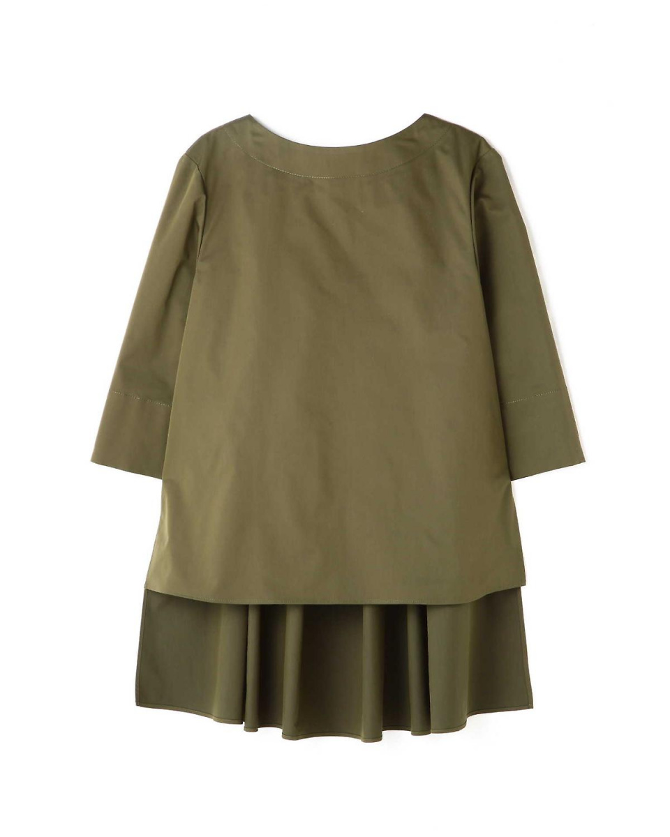 Adour / khaki dry twill back rope blouse Adour ○ 5318110211 / Women's