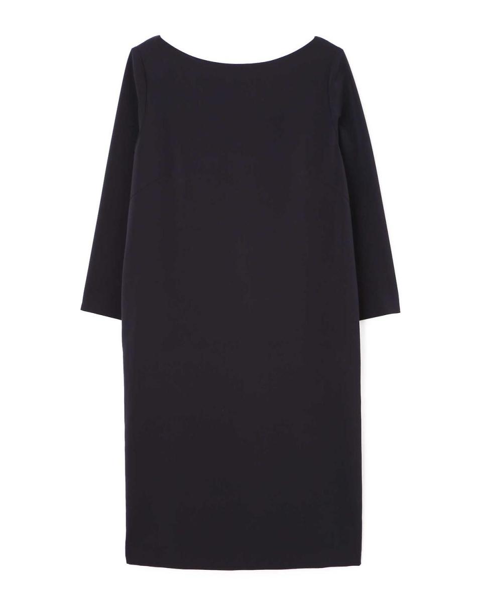 Adour / Navy clear stretch dress Adour ○ 5318140010 / Women's
