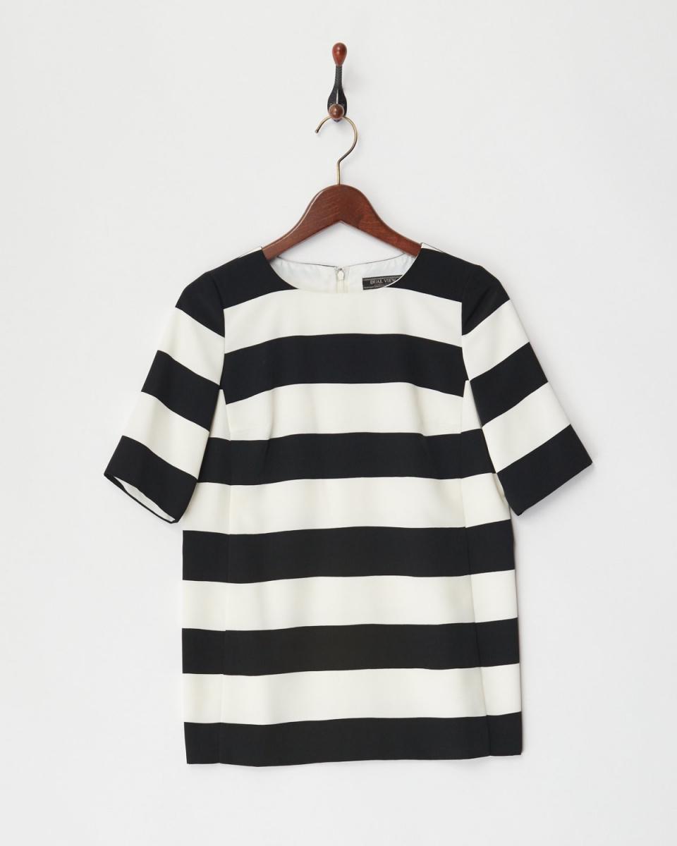 DUAL VIWE original / white system blouse ○ 17140015 / Women's