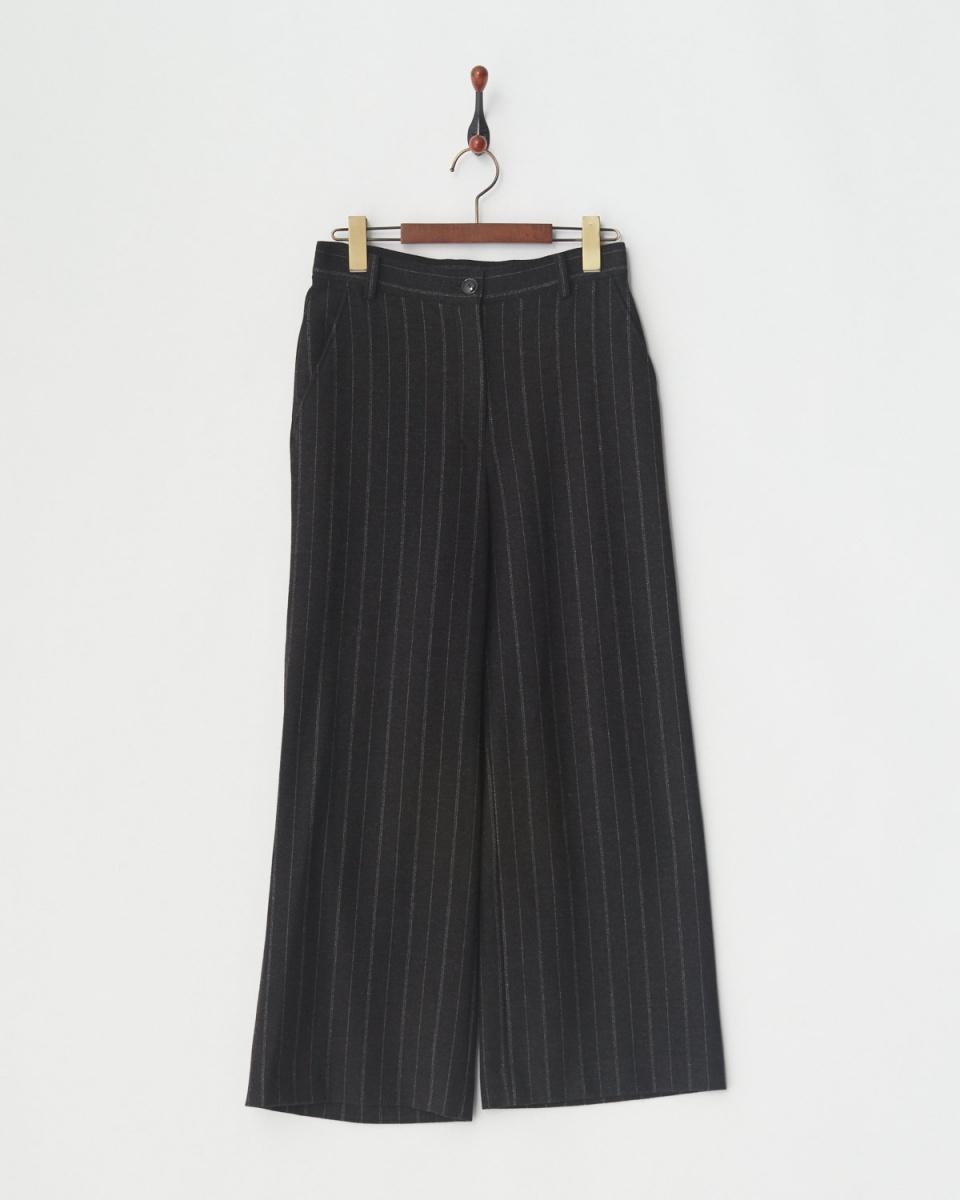 DUAL VIWE原/深灰色裤子○17154008 /女子