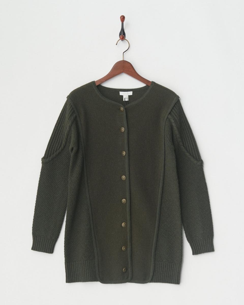INTROPIA / khaki cardigan ○ h5696210 / Women's
