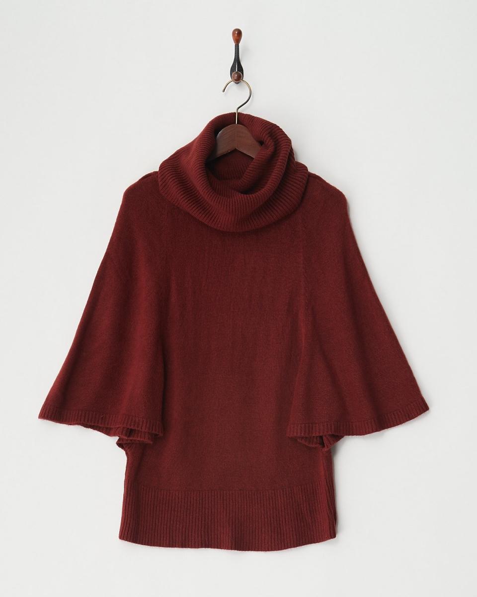 Roomy's / Bordeaux butterfly knit tops ○ 52840053 / Women's
