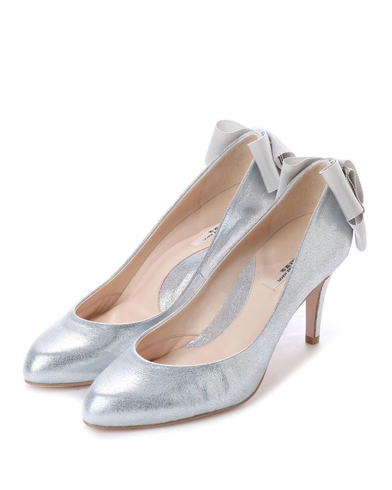 七十二點半/銀LovelyWalk腳支撐鞋墊泵○104371 /女裝