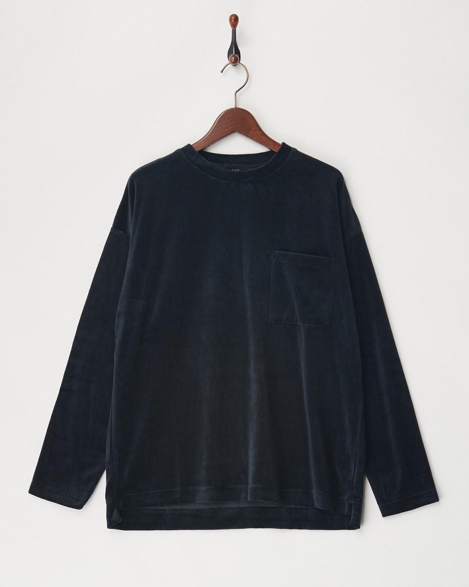 SLICK / 700 velor wide pullover ○ 5155243 / Men's