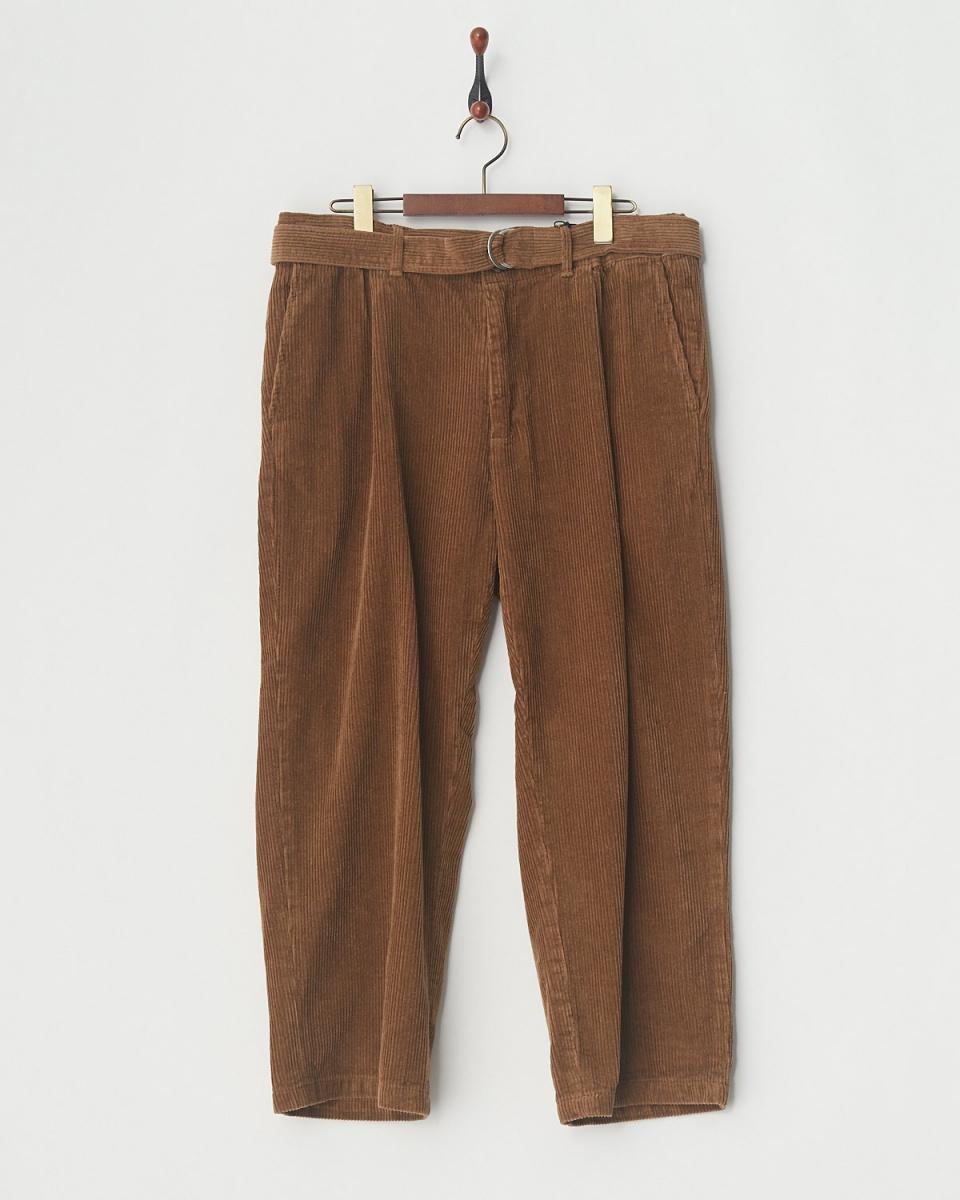 SLICK / 5108W corduroy bell Ted wide pants ○ 5169235 / Men's
