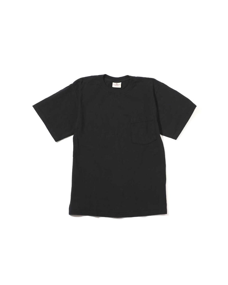 R/B COUPLES(バイイング) / ブラック1 メンズ胸ポケットTシャツ R/B COUPLES(バイイング)○6038113019 / メンズ