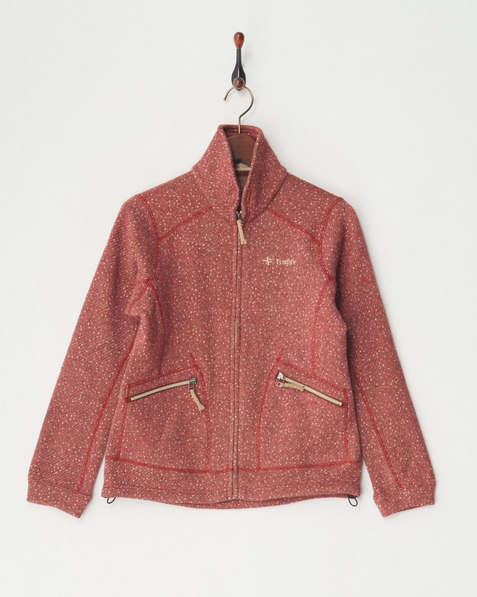 Foxfire / brick sweater fleece jacket │WOMEN ○ 8113643