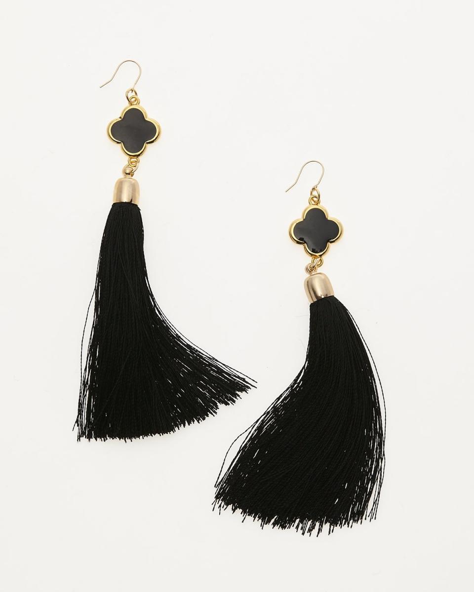 QUO JEWELRY /黑色耳环○385 /女装