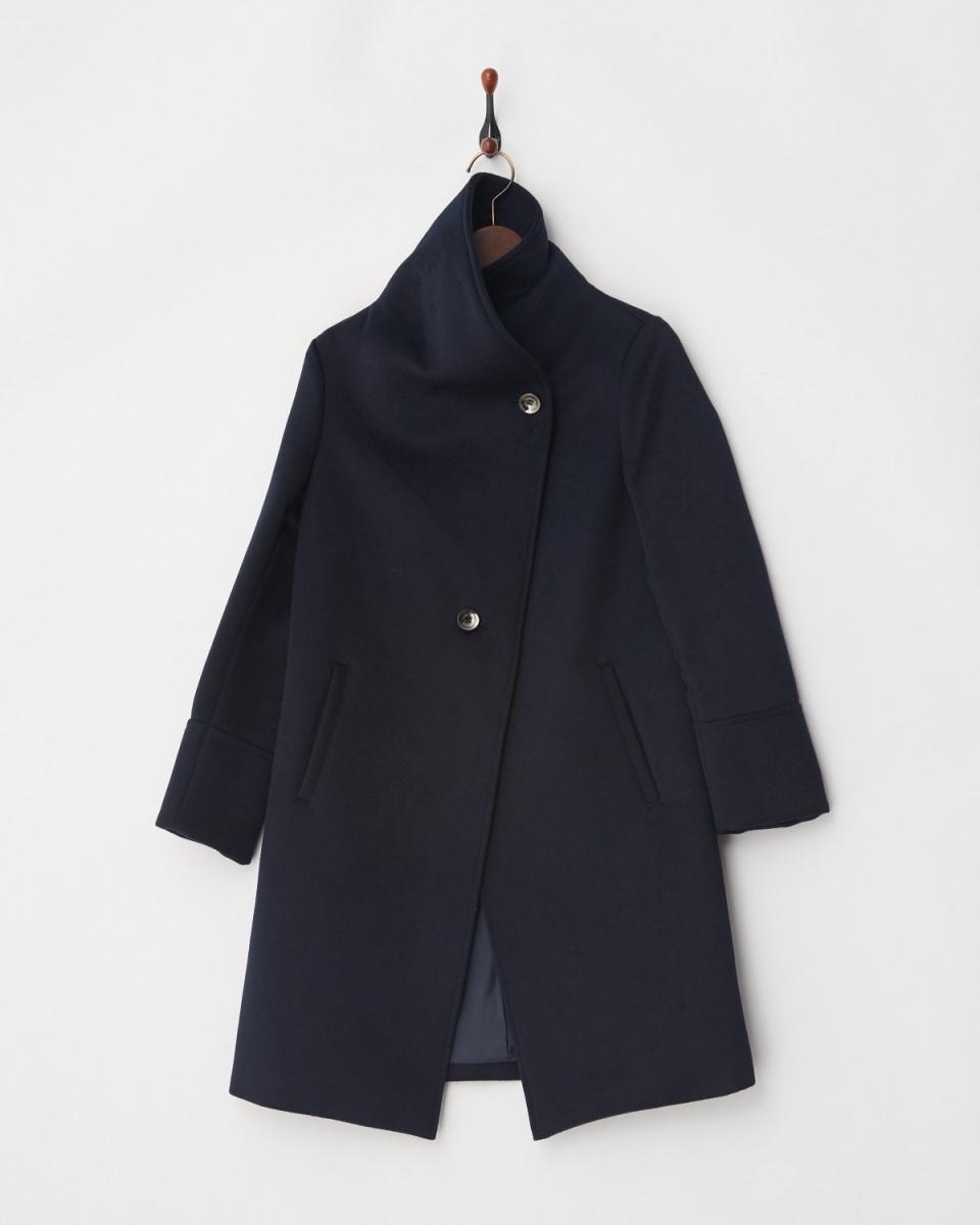 低級夜總會/海軍2WAY羊毛刷大衣○HC180310 /女裝