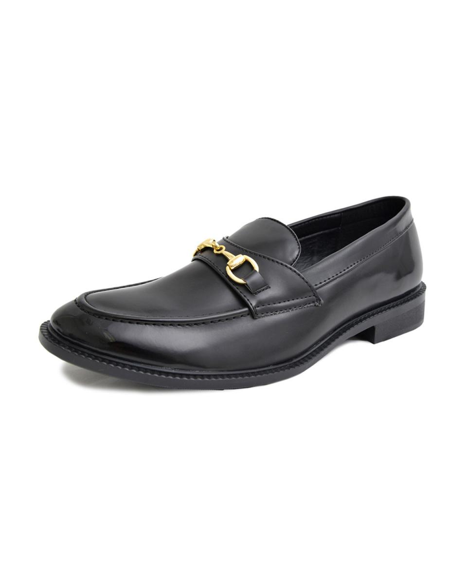 GLABELLA / black A foam insole \nbit loafers ○ GLBT-077 / Men's