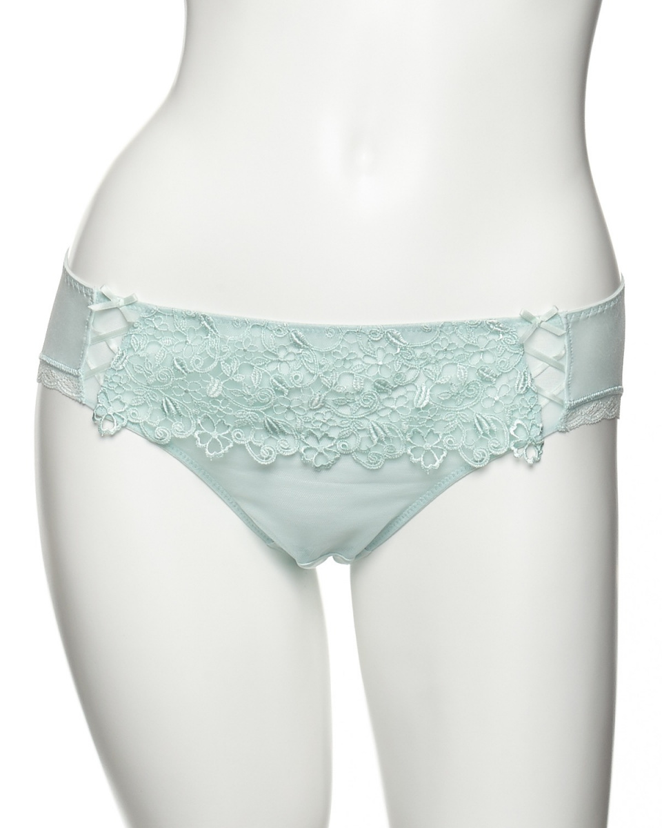 DOMESTIC UNDER / mint-in chemical lace shorts ○ D6360 / Women's