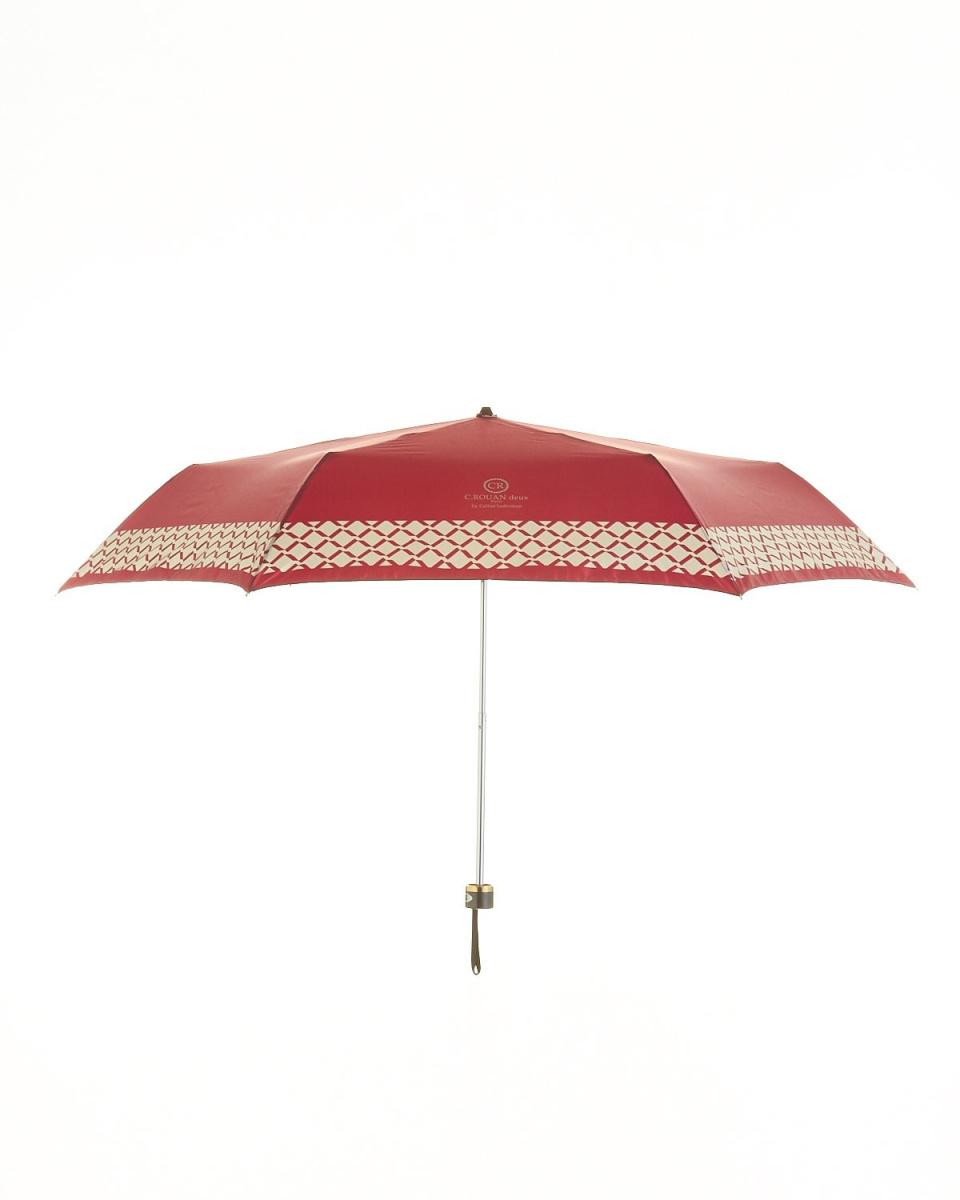 Bronze / WN satin print skirt plaid mini umbrella ○ 751358