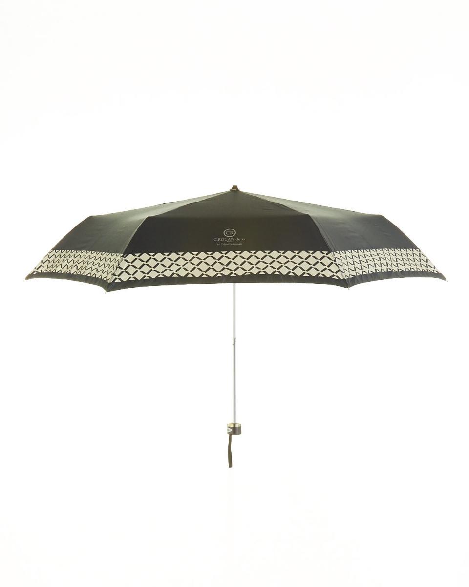 Bronze / BK satin print skirt plaid mini umbrella ○ 751358