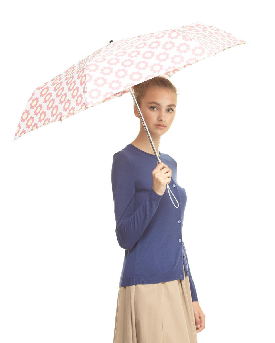 Bronze / H-PK floral print mini umbrella ○ Z01100