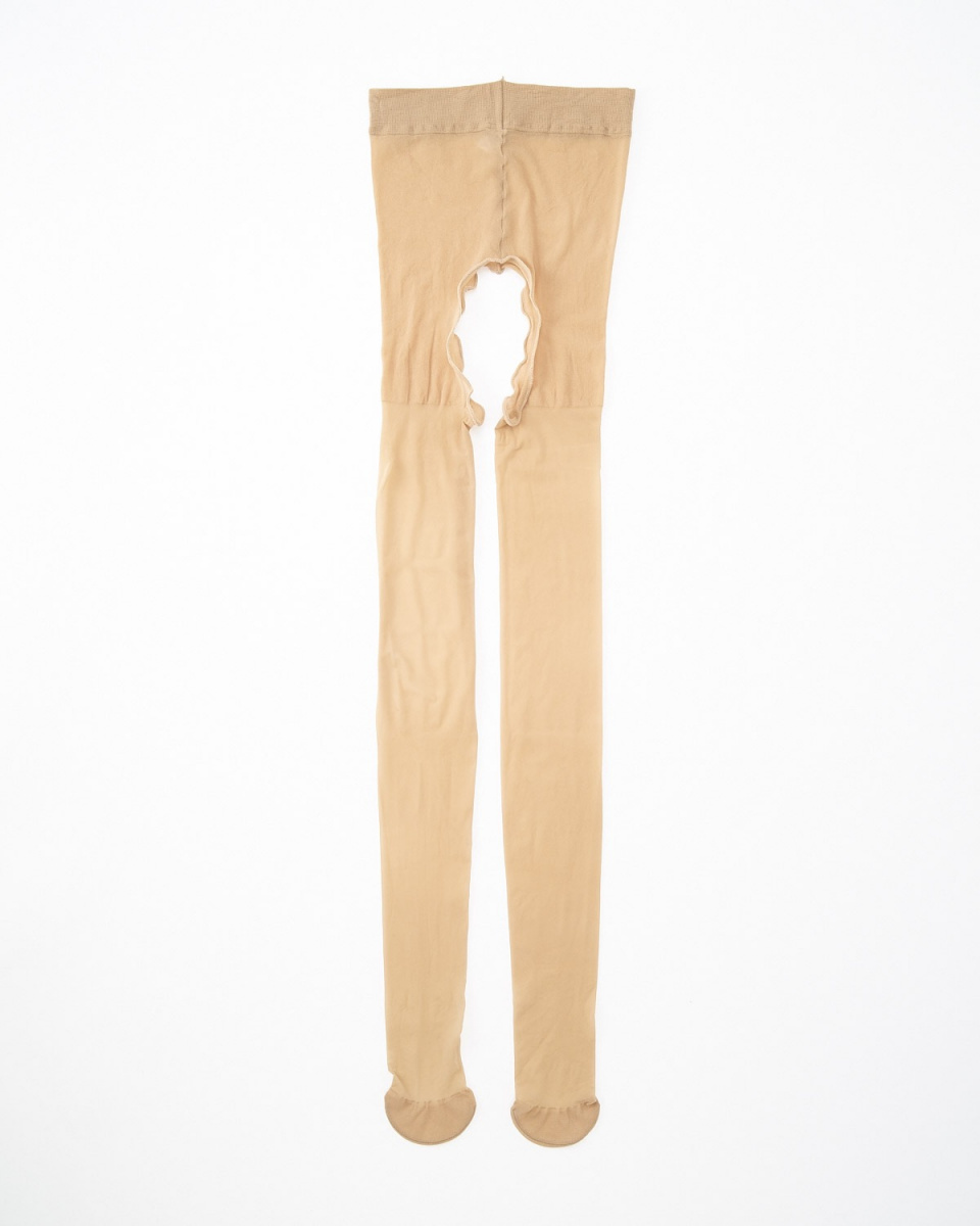 Floche /米色悶氣樁發布連褲襪○7796PW