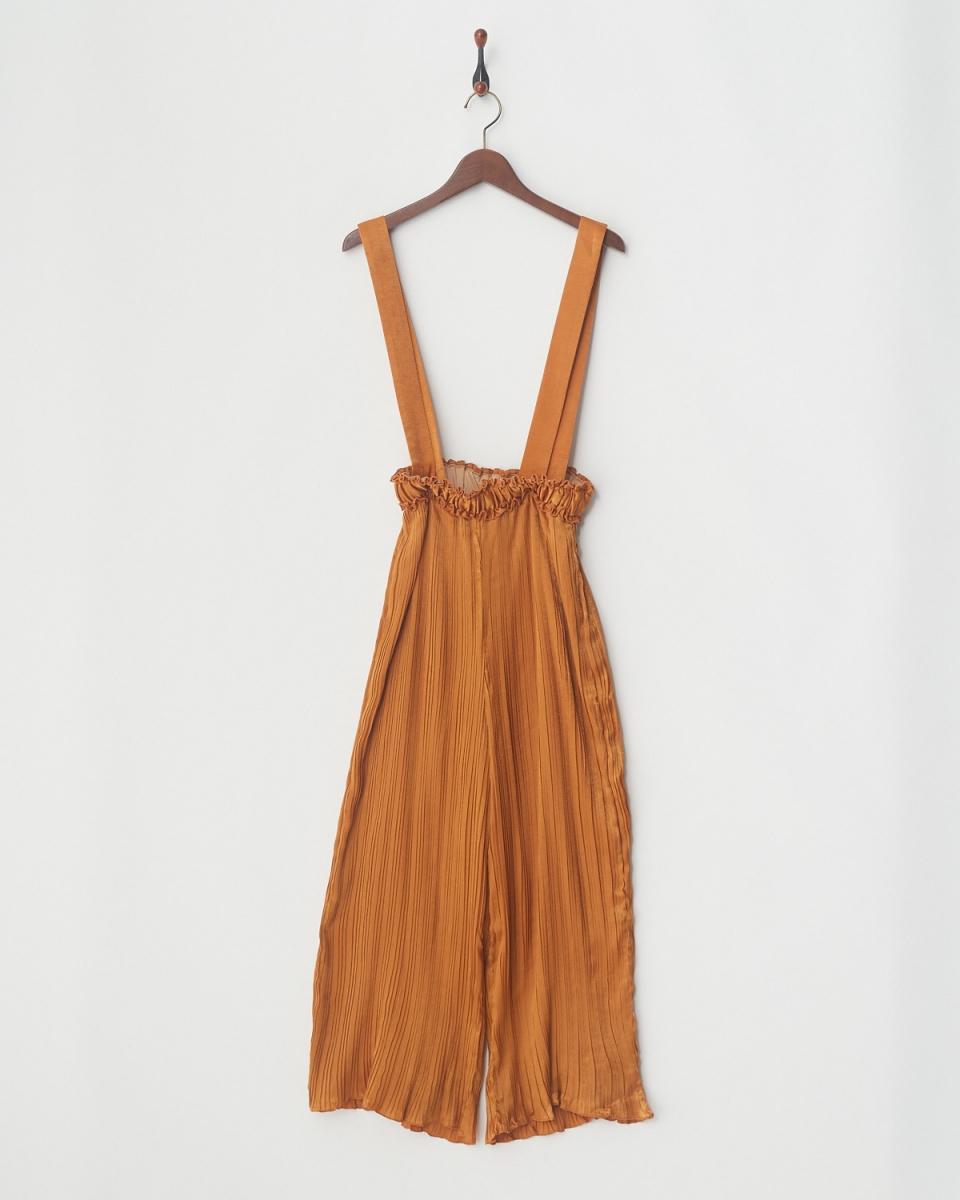 MIIA / OR random pleated pants ○ 34837417 / Women's with suspenders