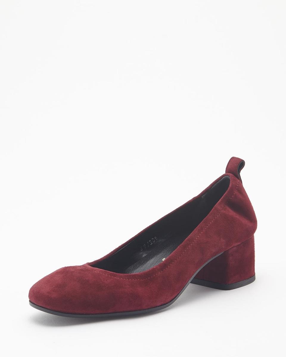 BRUNO PREMI /红色粗跟鞋泵○n3505ca /女装