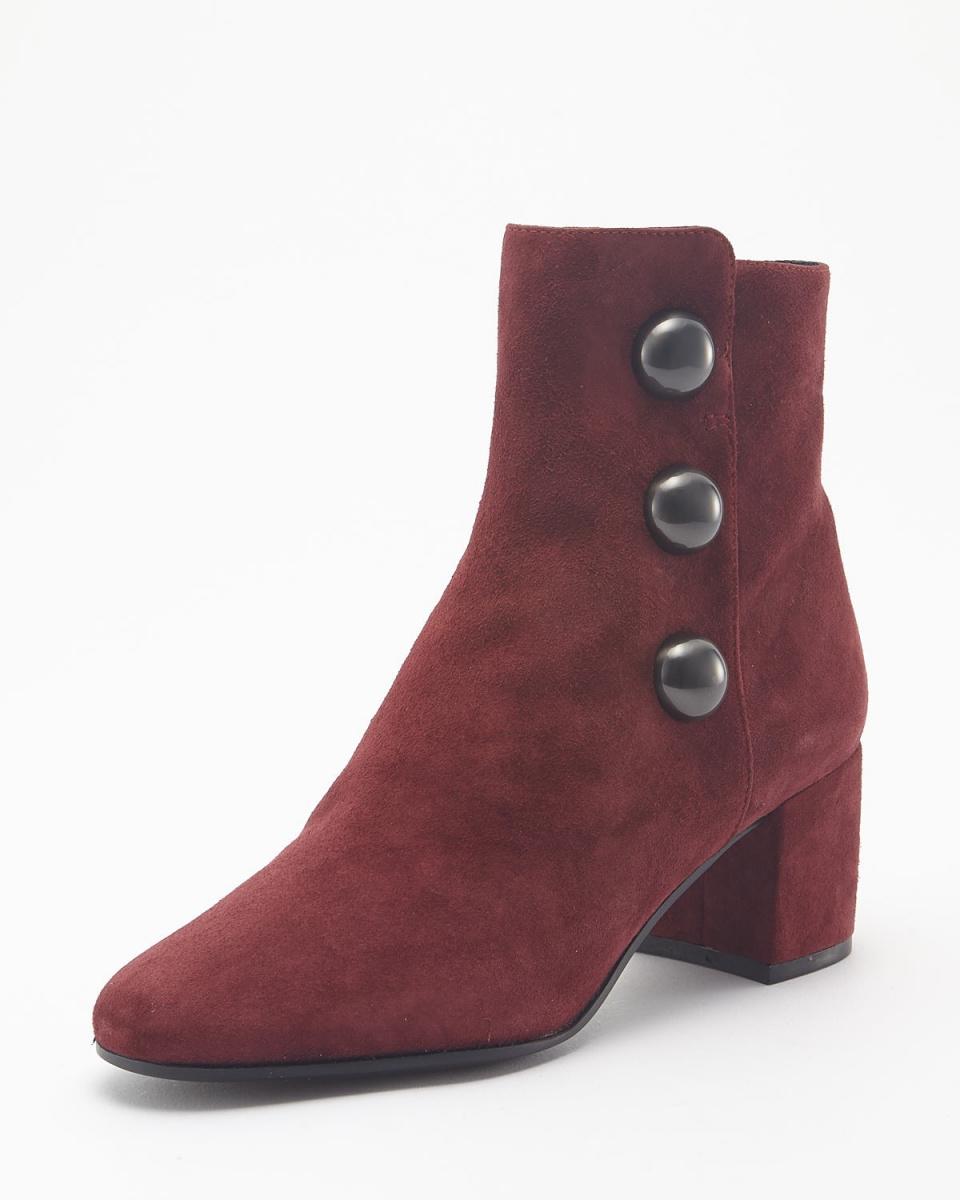 BRUNO PREMI /红色侧拉链靴○u1700gca /女装