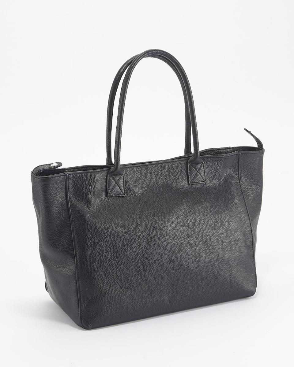 MODE FOURRURE /黑色皮包○BSB-0006